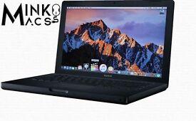 " Black 13"" Apple MacBook 2Ghz 2gb 120Gb Logic Pro Adobe Master CS5 Ableton Microsoft Office 2011 "
