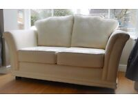2 + 3 Seater Cream Sofa (6 months old in great condition)
