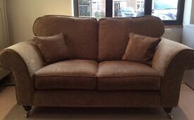 Three Seater Sofa, Two Seater Sofa & Footstool