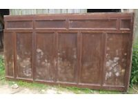 Architectural Antique Reclaimed wall panelling 22' 5'' running length x 5' 3'' high