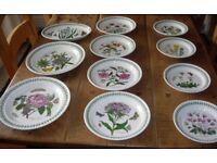 Selection of portmeirion plates