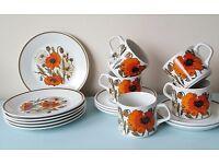 Vintage Meakin tea set