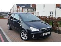 2007 Ford C-Max 1.8 16v Zetec 5dr **F/S/H+IMMACULATE+DRIVES WELL**