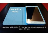 SAMSUNG TAB 4 tablet