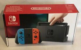 Available to Trade - Nintendo Switch Console for Pokemon cards or game consoles and game bundles