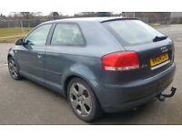 Audi A3 2.0 FSI Spare or Repair