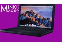 "BLACK 2.4Ghz 13"" Apple MacBook 2GB 250GB HD LOGIC PRO FINAL CUT MICROSOFT OFFICE ABLETON LIVE"