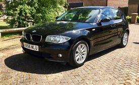 2006 BMW 1 SERIES BLACK 118D