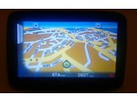 TELETREC SAT NAV WITH CAR CHARGER FOR SALE