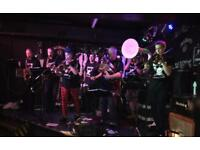 Good drummer wanted to join alternative brass band