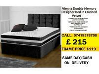 DEVIANA SINGLE DOUBLE KING SIZE MEMORY FOAM DESIGNER / Bedding