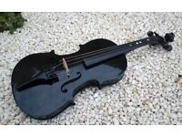 Violin, full size 4/4. original black colour
