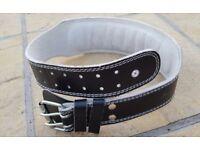Weight Lifting belt leather 28-32 waist size M
