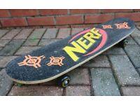 Nerf N-Strike Junior Skateboard As New Condition