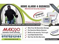 Wireless Intruder Alarm System (warranty with fitting), No Monthly Subscriptions