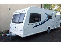 2012 Bailey Pegasus Milan 4 berth in immaculate condition