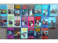 21 x CATHERINE COOKSON VHS video tapes, all store-bought, only one careful owner excellent condition