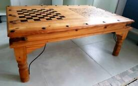 Large Mexican Pine Solid Wood Dining Coffee Table