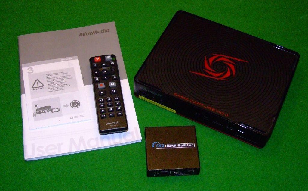 PC, PS3, PS4, Xbox Full HD capture system  Avermedia HD2