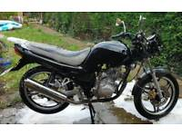 125cc motorcycle project