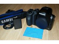 Samsung NX30 20.3MP Mirrorless Digital SLR Camera - Black (Body Only)