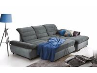 RESPIRO - Supremely comfortable corner sofa-bed with movable backrests. Delivery available