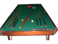 SNOOKER TABLE plus accessories