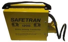 110v 1200va portable site tool transformer (New) £70