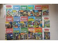 24 x Weird Science, Weird Fantasy, Tales from the... etc. EC Comics Russ Cochrane.