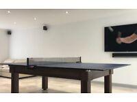 Butterfly 'Europa' Table Tennis Net & Post Set
