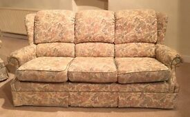 Vintage G-plan 3 seater sofa, very comfortable, good condition, fire retardant fabric.