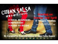 ***CUBAN SALSA*** TOTAL BEGINNERS 8-WEEK COURSE