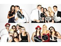 PHOTO BOOTH HIRE FROM £197 - UNLIMITED PRINTS & PROPS INCLUDED | PHOTOBOOTH RENTAL