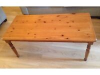 Pine Coffee Table & 2 Lamp Tables *QUICK SALE*