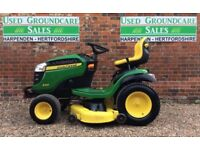 John Deere X165 Ride on Mower