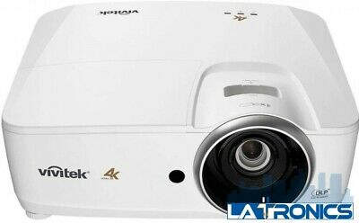 New Vivitek HK228HAB Lumen Ultra HD 4K DLP Home Cinema Projector with HDMI White