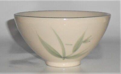 Winfield China Pottery Green Bamboo Rice Bowl