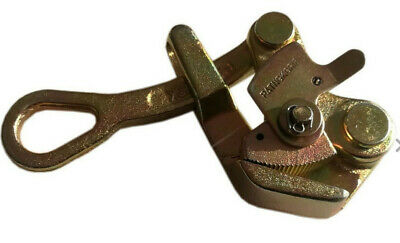 Wire Grip 1 Ton Cable Wire Rope Haven Grip Jaw Puller Pulling 2204 Lbs