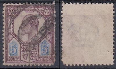 *GB*       KG VII ,    Sg. 294,    5d,   Used