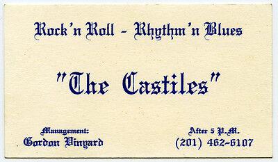 "Original 1966-67 BRUCE SPRINGSTEEN ""The Castiles"" Business Card - EARLIEST ITEM"
