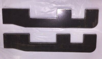 """Skid Steer Quick Attach Lower Mount Plate 3/8"""" Bobcat Style Bucket Attachment"""