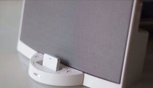 Wireless Bluetooth Music Receiver For.Bose SoundDock 1st Generation V1 In White