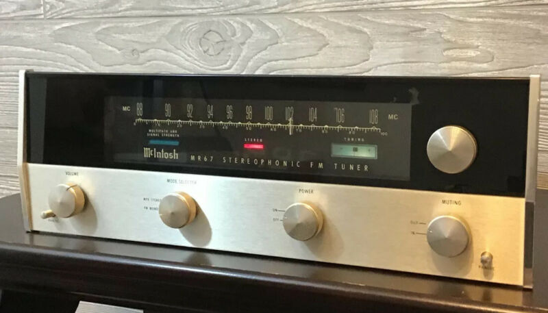 McIntosh MR67 Stereophonic FM Tuner - Tested