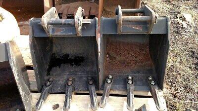 New Jcb 18 Digging Bucket 1 14 32mm Pins Mini Excavator