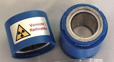 Bleibehälter SCHWER, z.B. für Pechblende, Prüfstrahler - Geigerzähler
