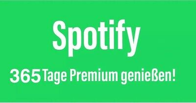 Spotify Premium 12 Monate [Deutscher Account]