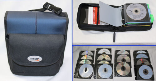 MSDN Software Set of 49 DVD Subscription Disks with Keys