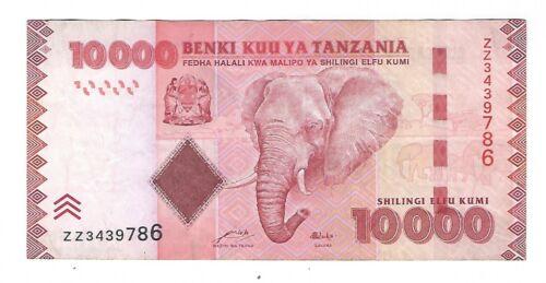 "Tanzania - 10,000 Shillings  1986 !! ""ZZ"" Replacement !!"