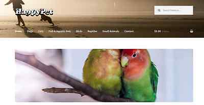 Amazon Affiliate Pet Shop Store Website Business ecommerce Online Shop