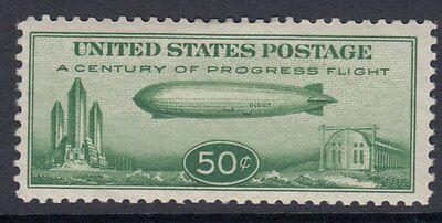 UNITED STATES OF AMERICA : 1933 AIRMAIL 50c Century of Progress  Scott #C18-Mint